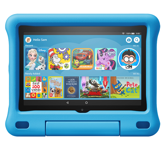 Amazon Fire HD 8 Kids Edition 10th Generation 8 Inch Tablet 32GB - Blue