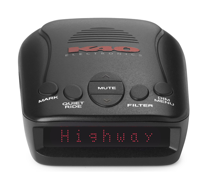 K40 RLS2 Radar detector with laser protection and GPS