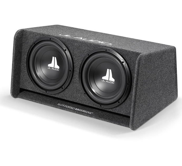 JL Audio CP212-W0V3 Dual 12 inch 12W0v3 Ported Subwoofer Enclosure Box