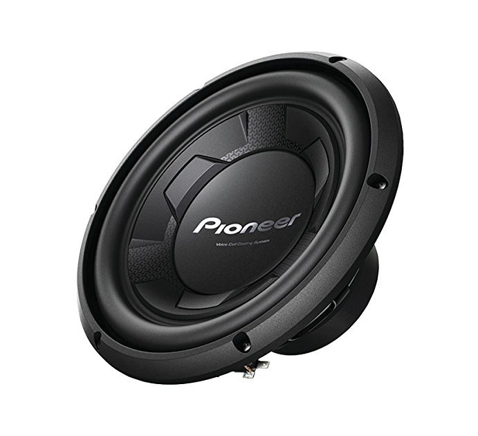 Pioneer 12 Inch Single-Voice-Coil 4-Ohm Subwoofer